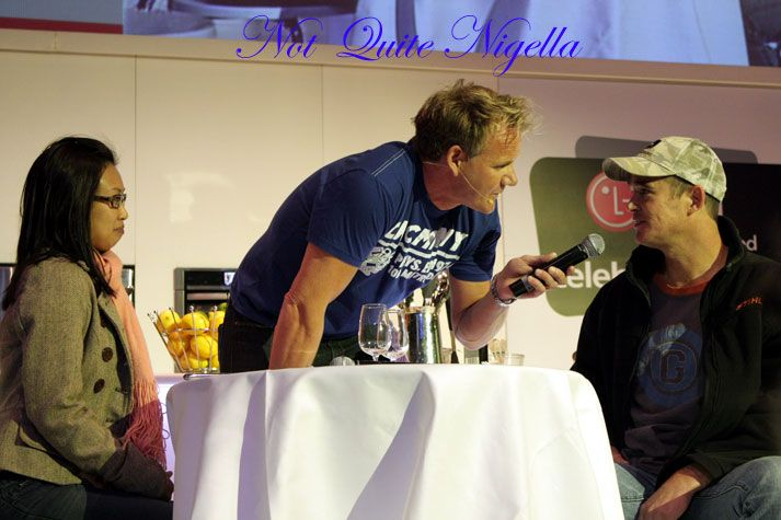 Waking Up with Gordon Ramsay, the Masterchef boys & the Good Food & Wine Show