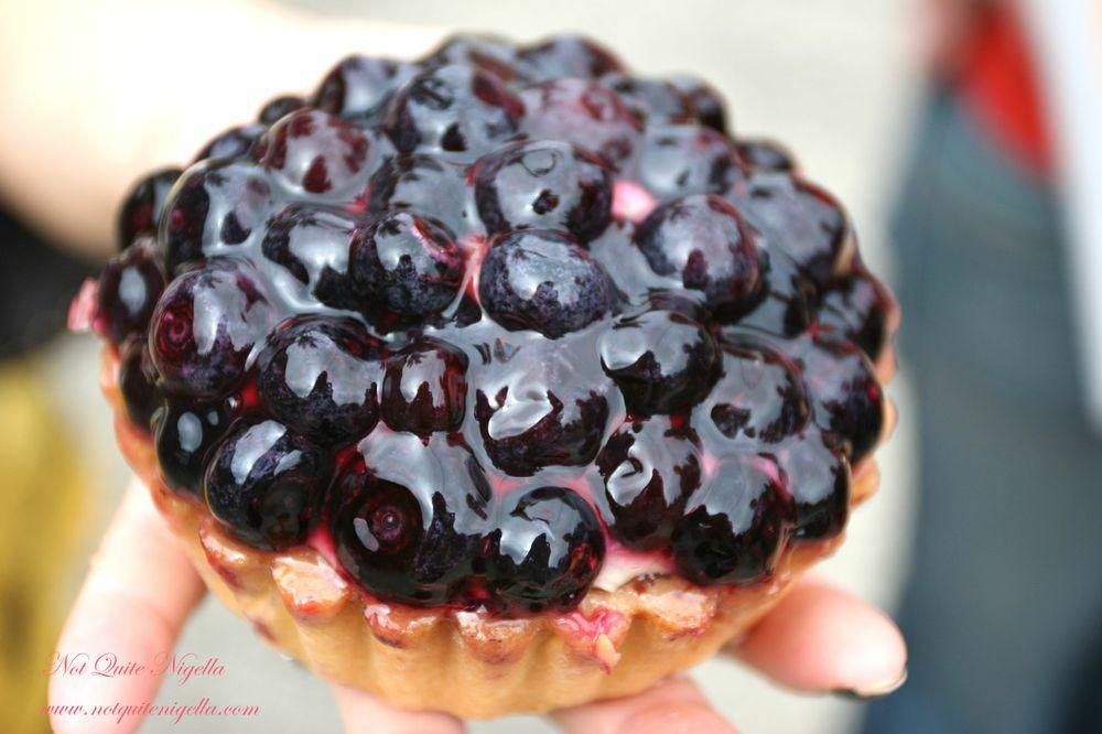 Noga's Cakes at Bondi Blueberry tart
