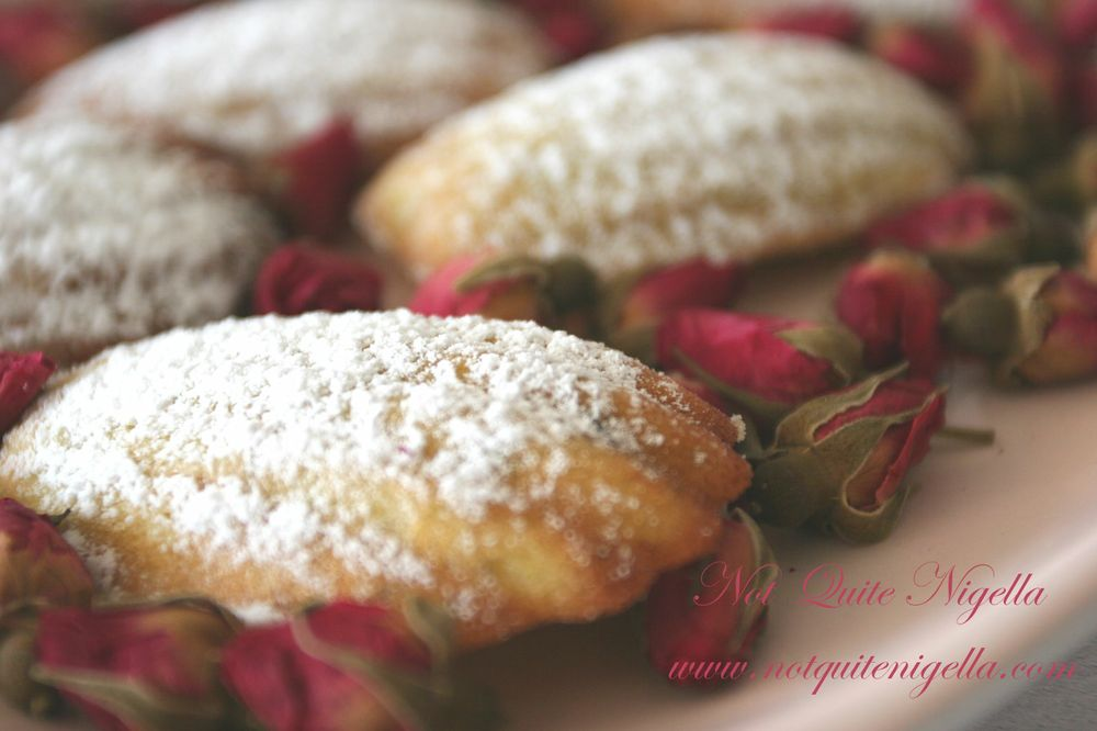 Pistachio and Rose Madeleines wallpaper