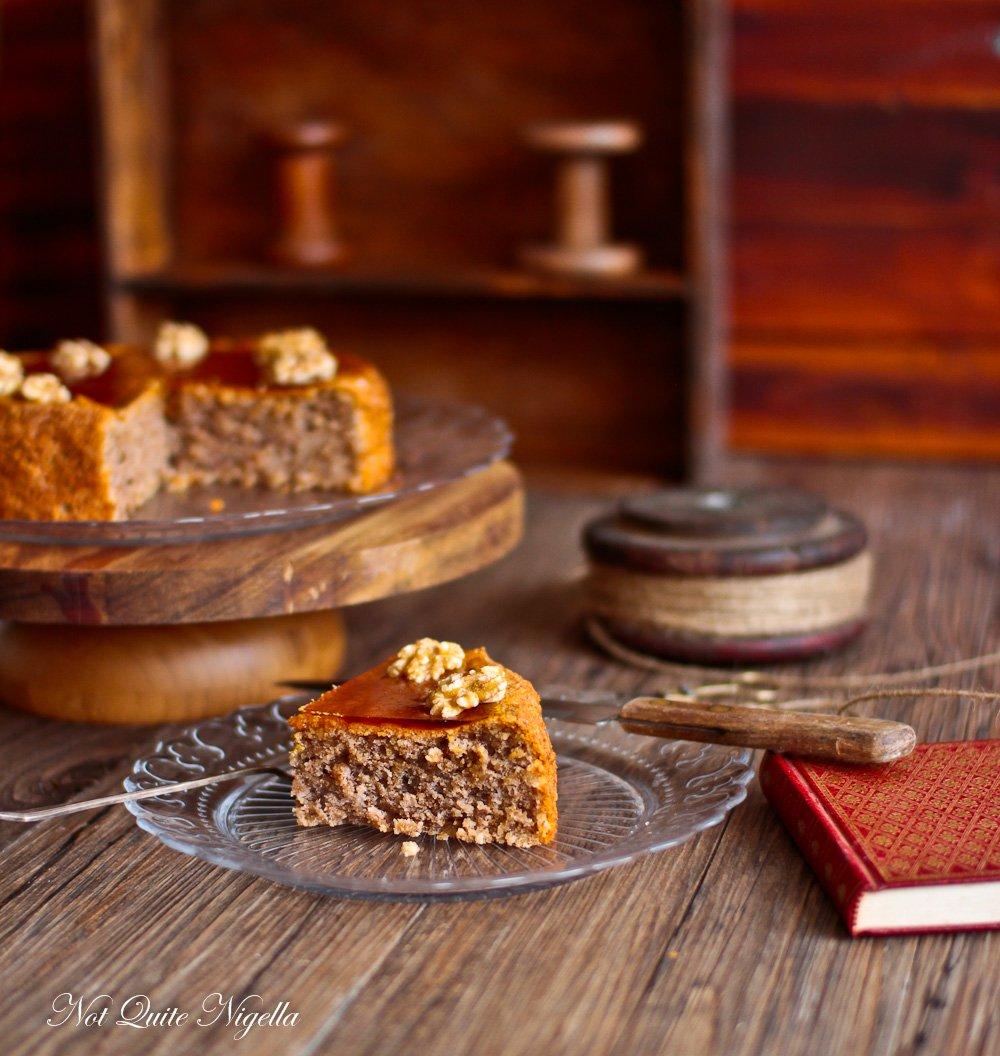 Walnut Cake Gâteau aux Noix