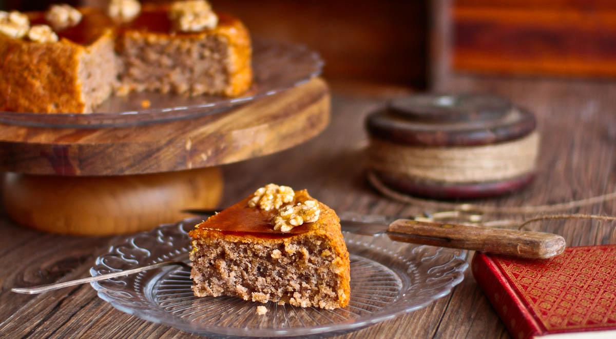 Mathilde, The French Perigordine Walnut Cake (Gâteau aux Noix)