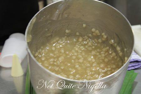 water chestnut coconut custard recipe