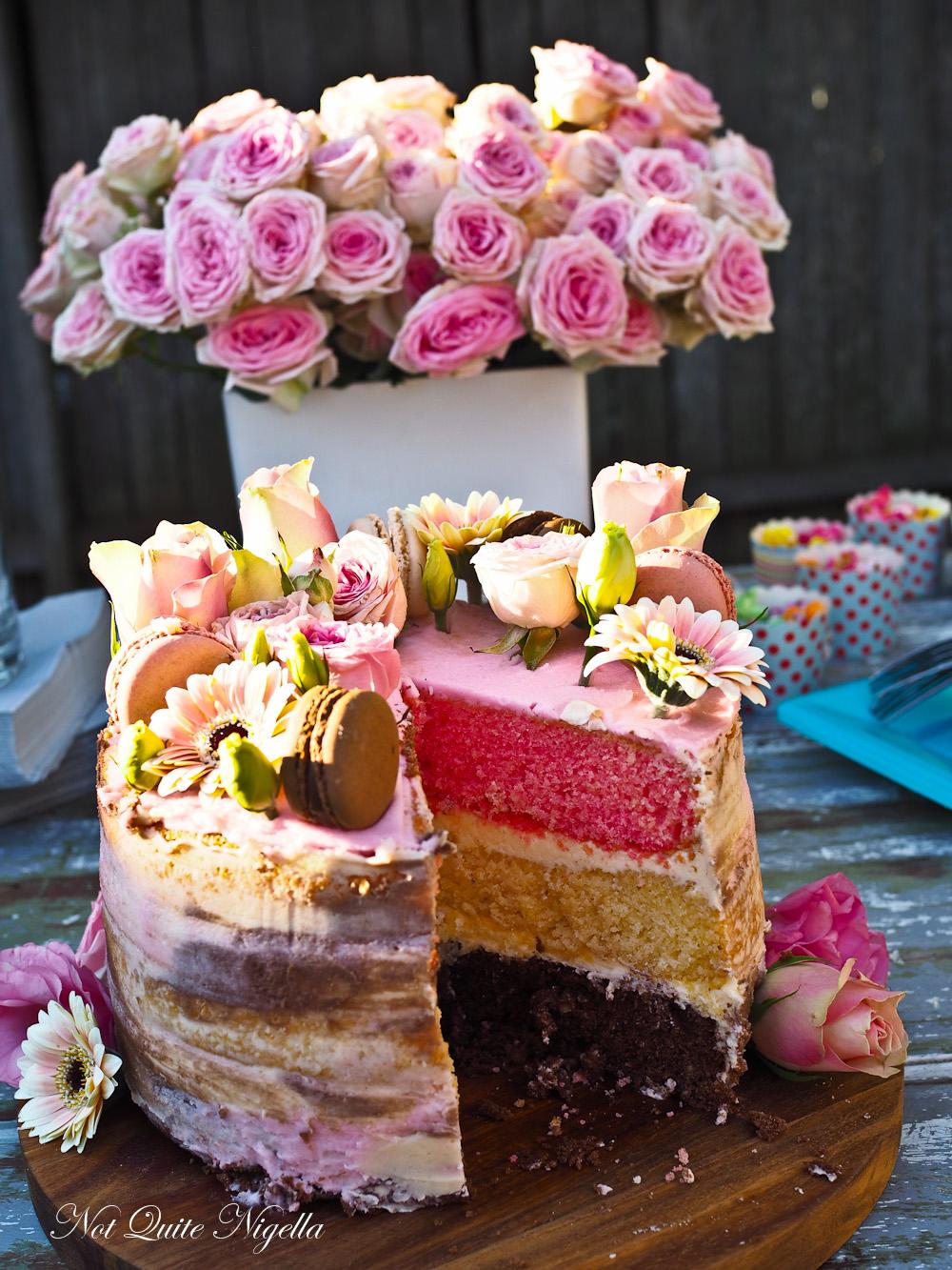 Watercolor Watercolour Cake