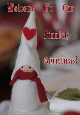 Welcome To Our Very Merry Finnish Christmas!