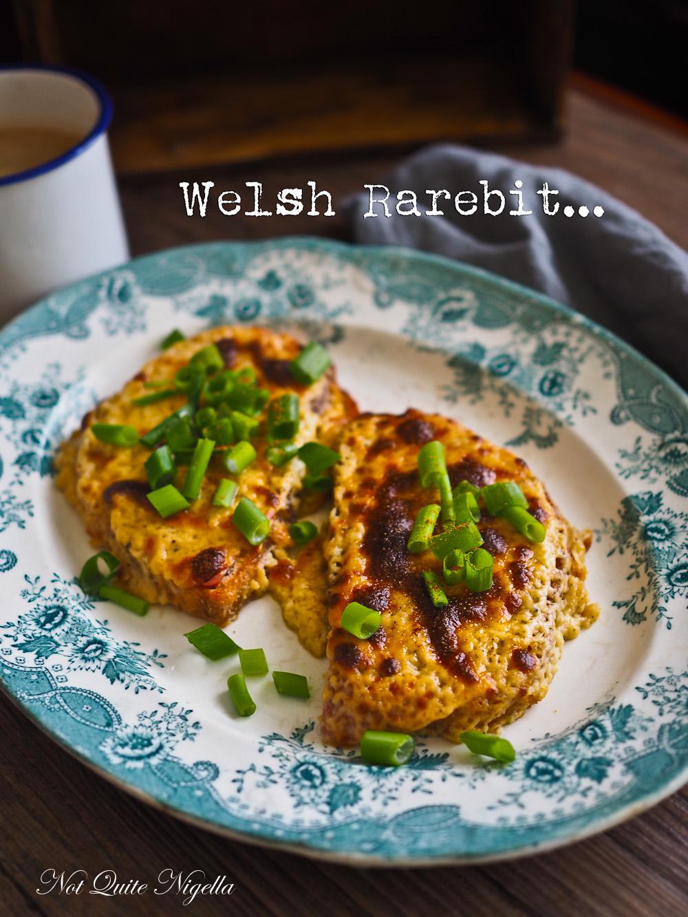 Welsh rarebit Recipe