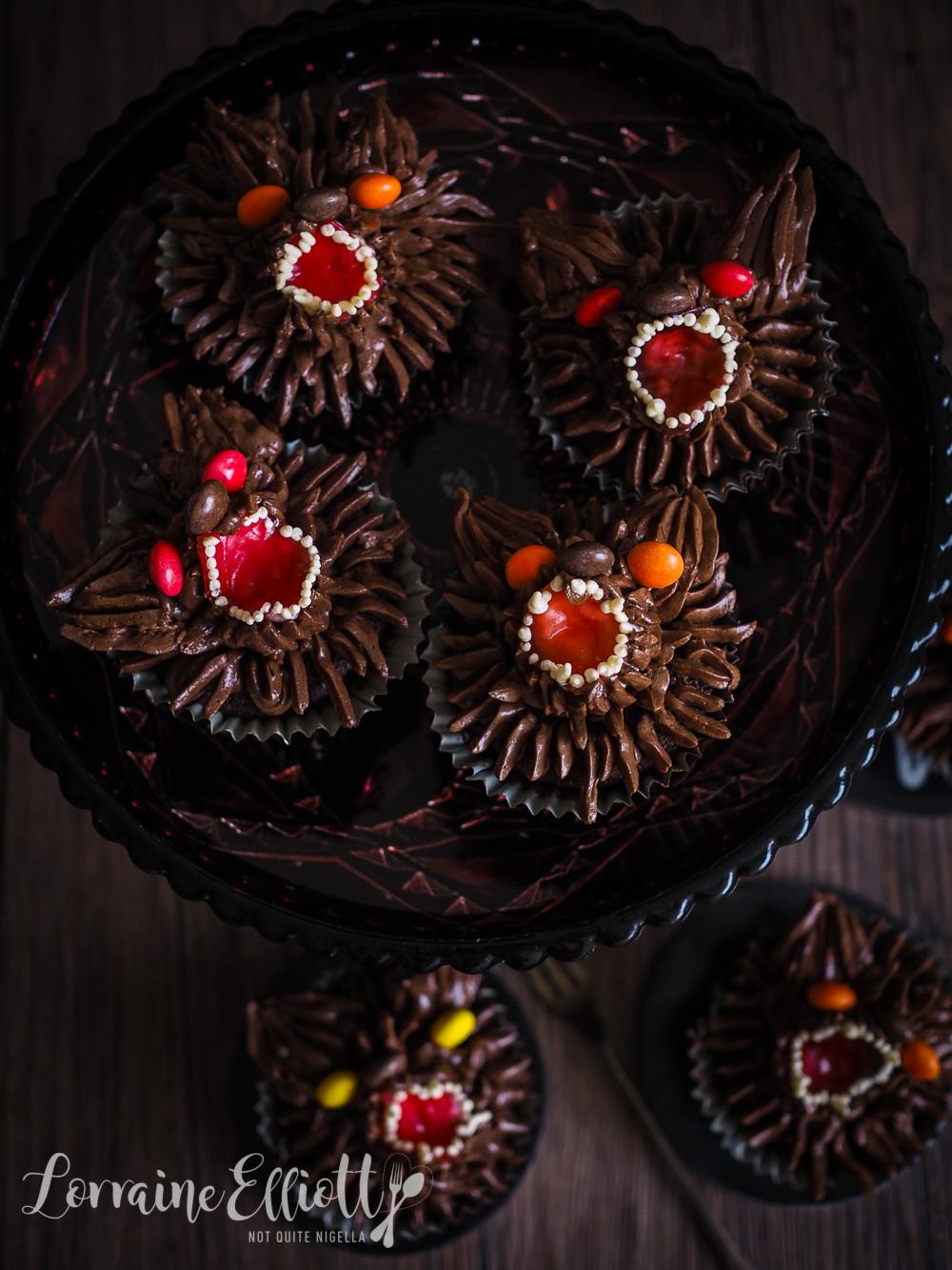 Werewolf Halloween Cupcakes