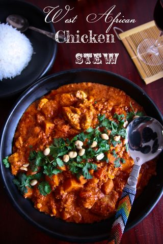 West African & Peanut Stew