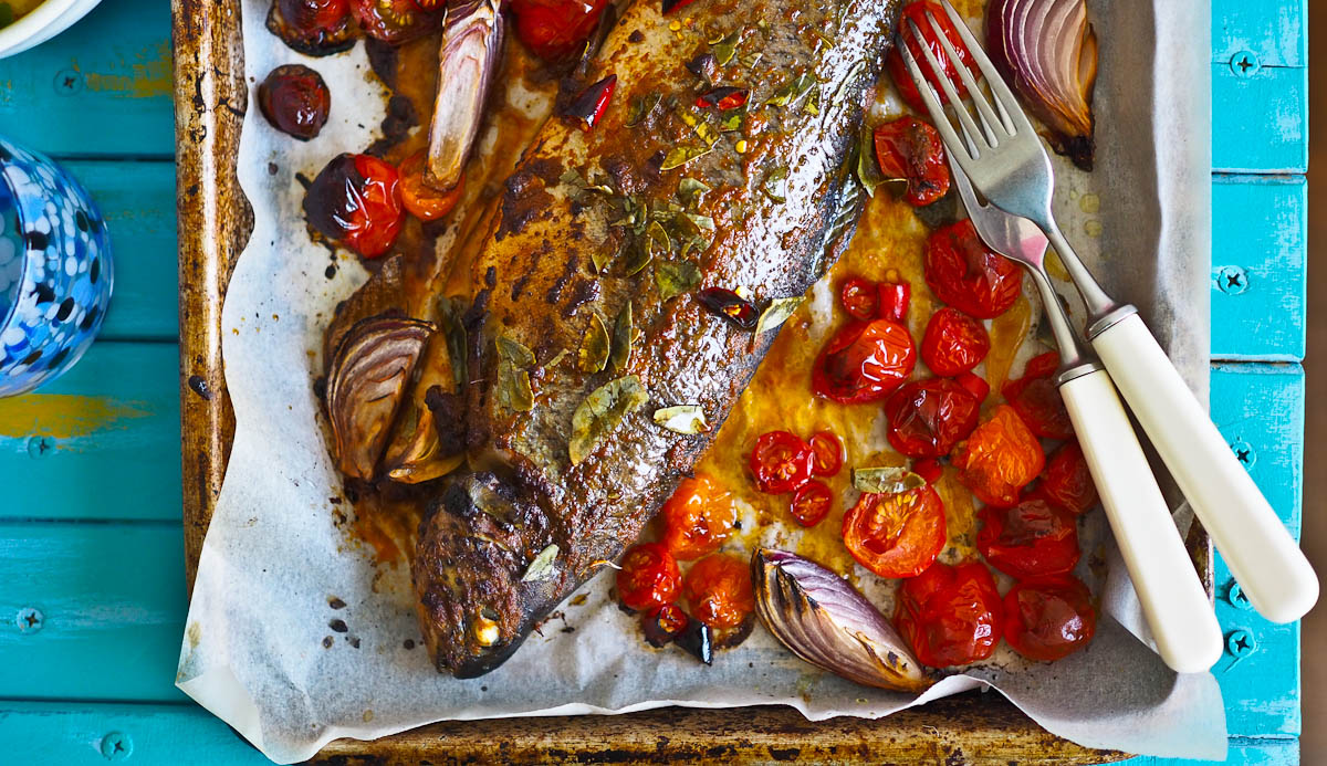 how to cook a whole rainbow trout fish