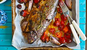 Fishing For Compliments: Tom Yum Baked Rainbow Trout!
