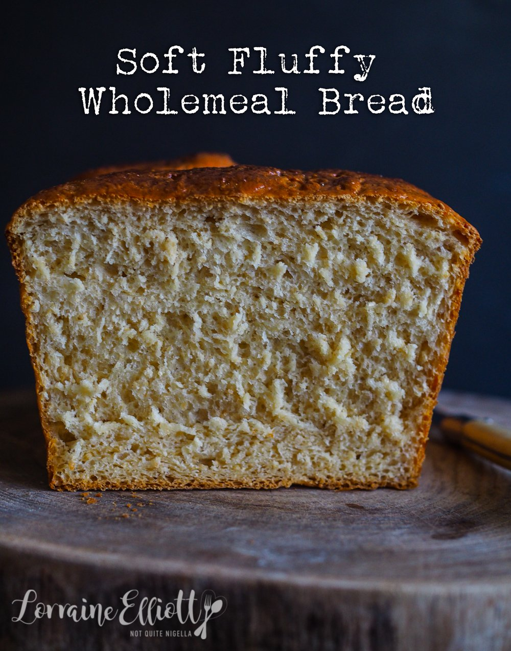 wholemeal tangzhong bread