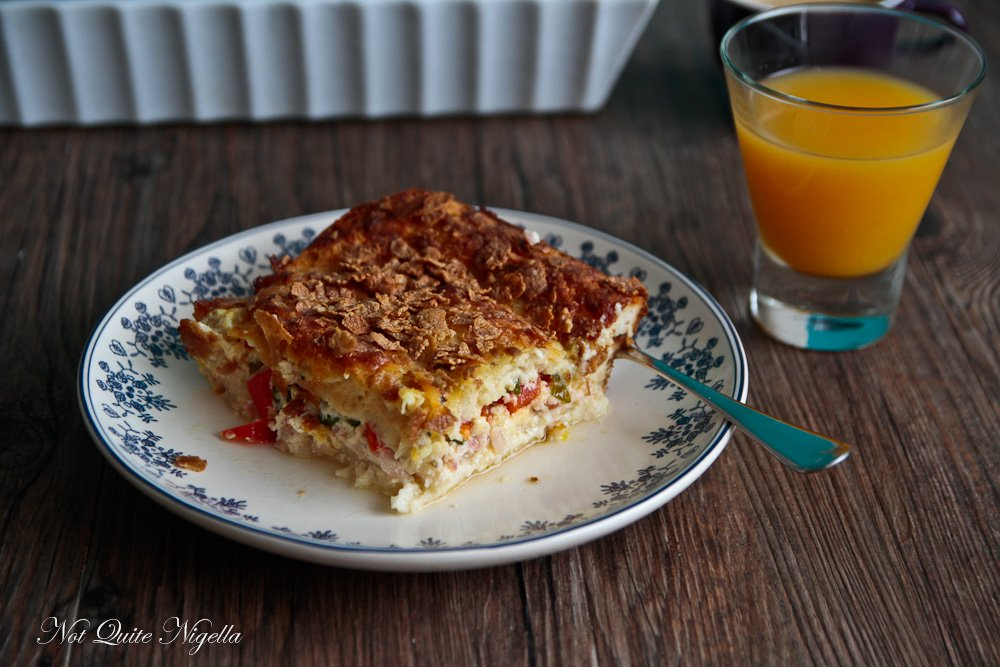 Wifesaver Baked Egg Breakfast