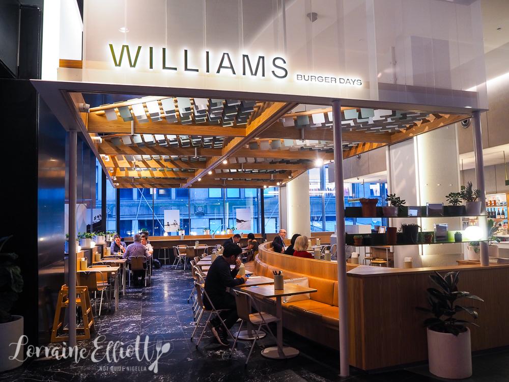 Williams Burger Days, Sydney CBD
