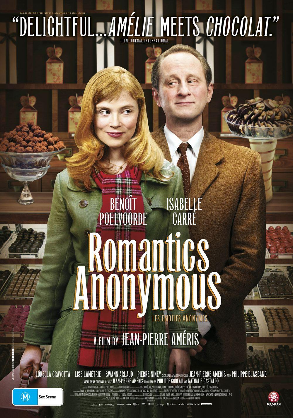 Win 1 of 10 Double Passes to Romantics Anonymous!