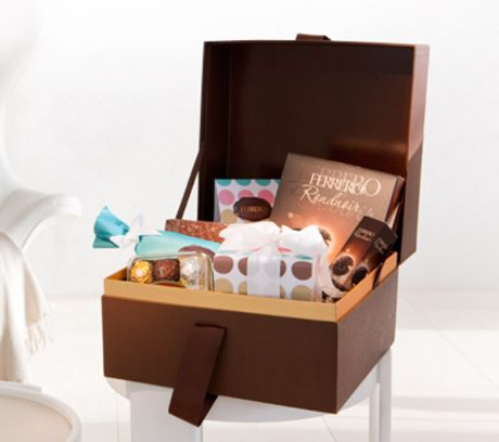Win 1 of 2 Ferrero Christmas Chocolate Hampers!