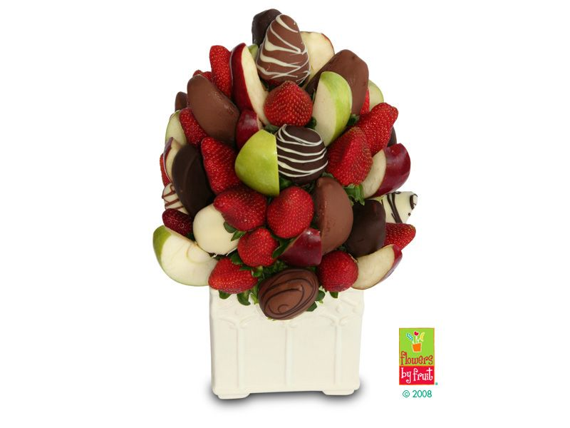 Win 1 of 2 Flowers by Fruit Bouquets!