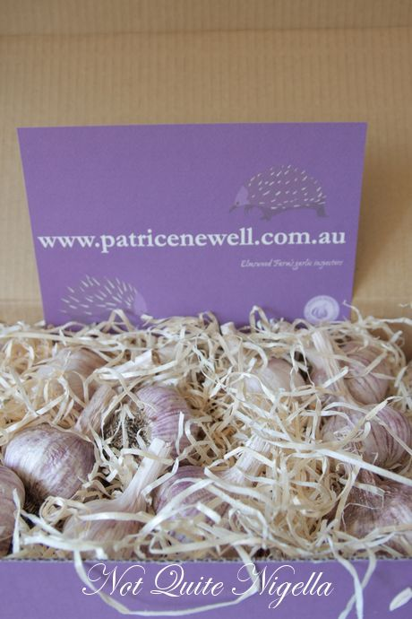 Win 1 of 3 Boxes of Patrice Newell Premium Garlic!