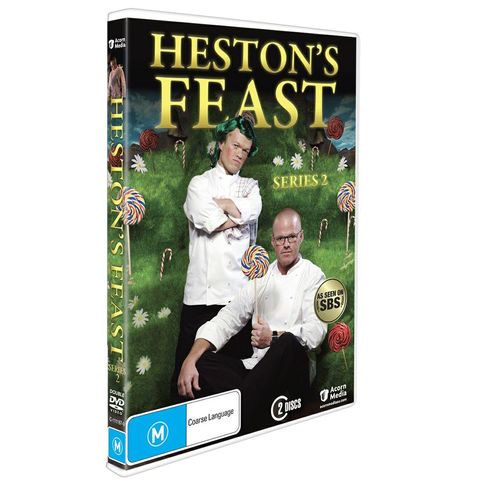Win 1 of 4 Copies of Heston's Feast Season 2 on DVD!