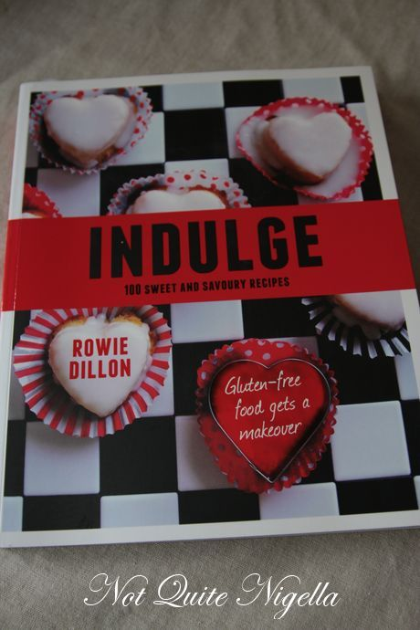 Win 1 of 4 Copies of Indulge: A Gluten Free Cookbook By Rowie Dillon
