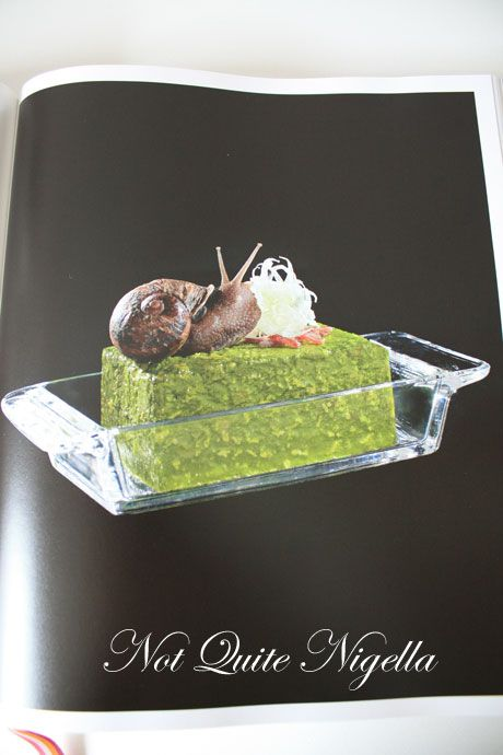 fat duck cookbook snail