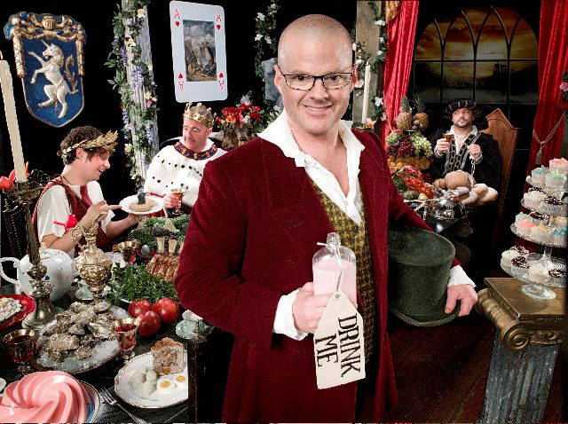 Win 1 of 5 Box Sets of Heston's Feast Seasons 1& 2 With Heston Blumenthal!