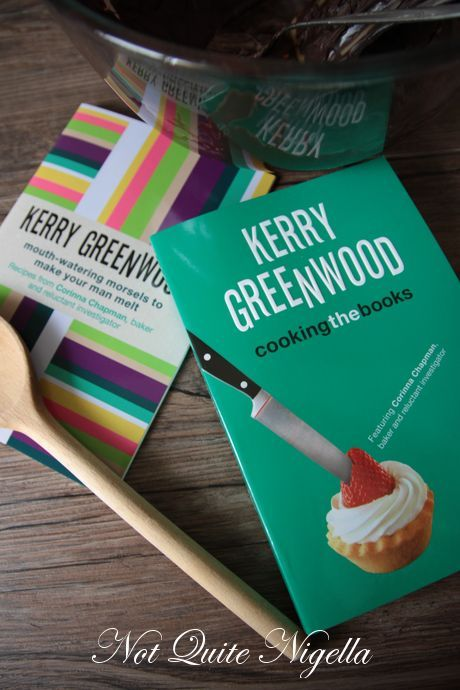 Win 1 of 5 Copies of Cooking The Books by Kerry Greenwood!