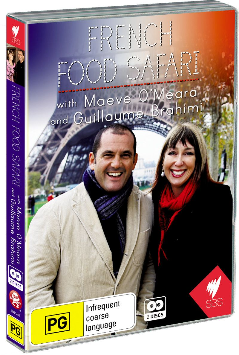 Win 1 of 5 Copies of French Food Safari on DVD!