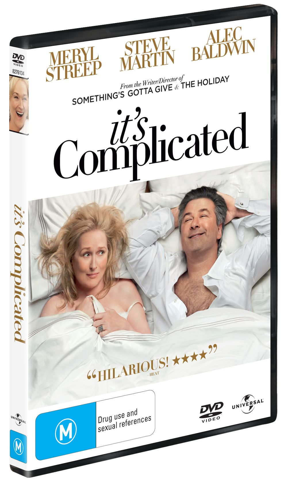 Win 1 of 5 Copies of It's Complicated on DVD!