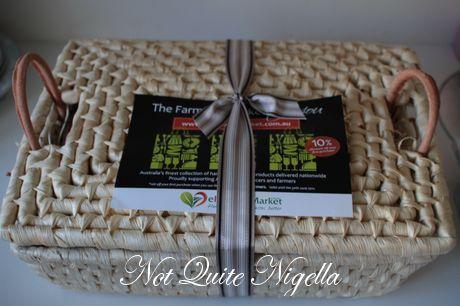 Win 1 of 5 eFarmer's Market Gourmet Tasting Boxes!