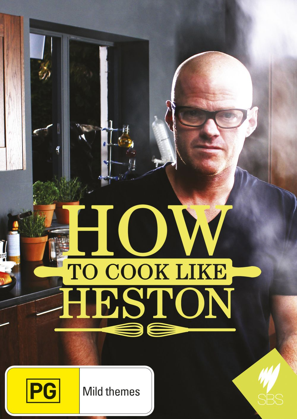 Win 1 of 6 How To Cook Like Heston DVDs & Heston Blumenthal At Home!
