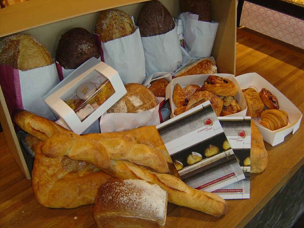Win a box of Brasserie Bread delivered to your workplace!