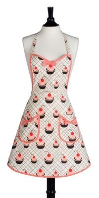 Win a Mummy and Child Designer Apron Set from The Cupcake Courier and Jessie Steele!
