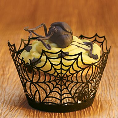 SpiderWeb cupcake holder