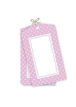 pink favour bags