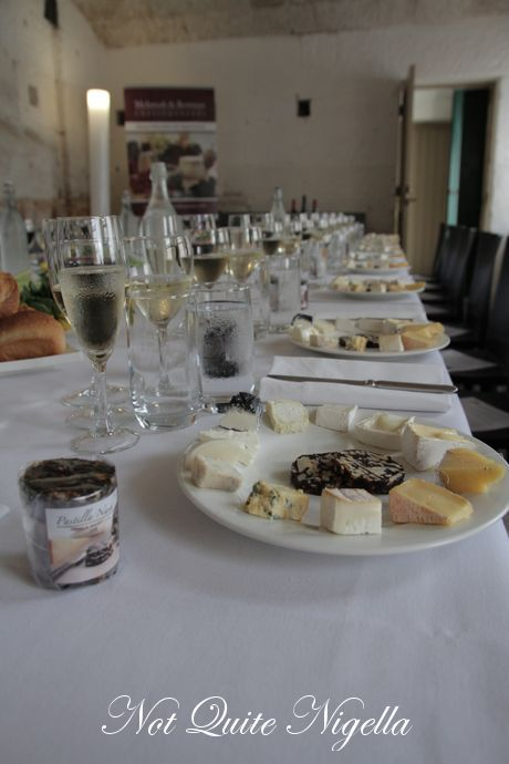 fort denison cheese tasting