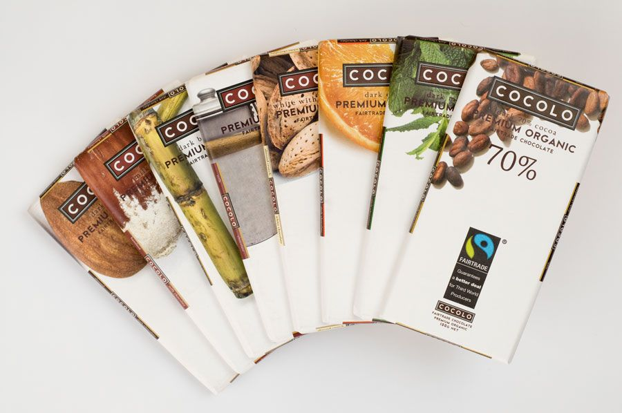 Winners of the Cocolo Organic Fairtrade Chocolate Competition are...