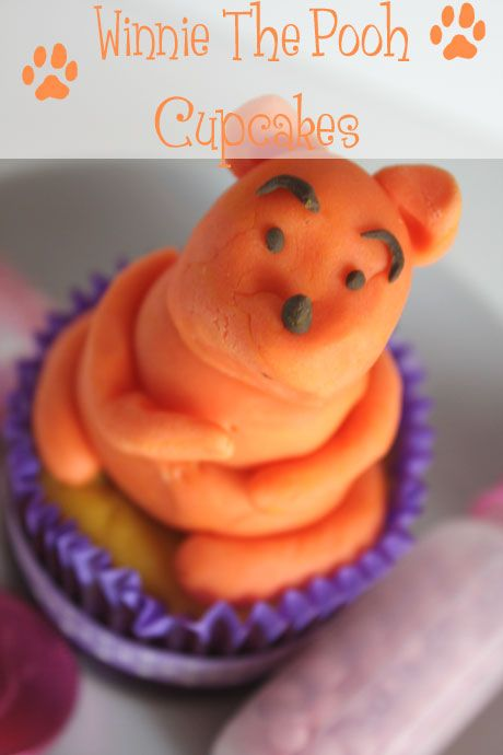 Winnie the Pooh Hunny Cheesecake Cupcakes
