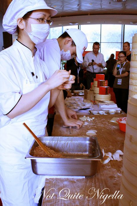 world chef showcase din tai fung dumplings
