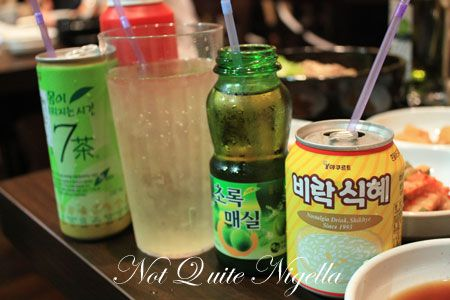wow bulgogi kensington drinks