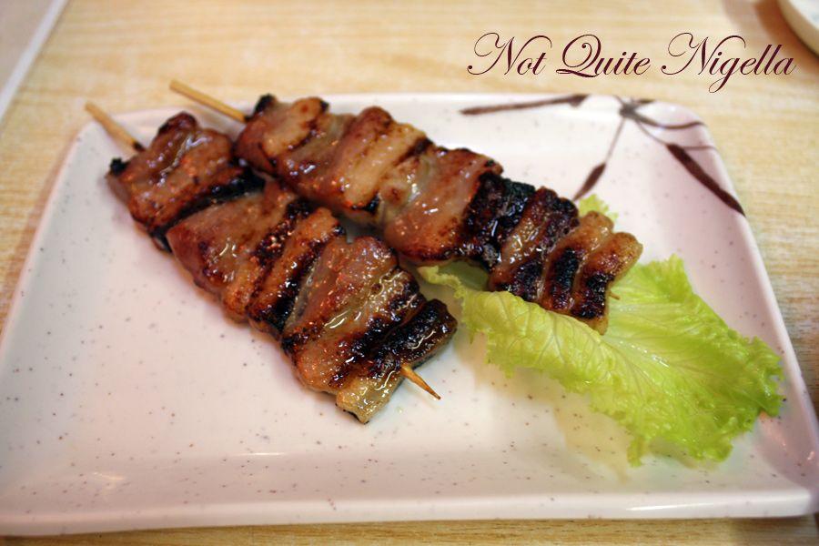 Yakitori Alley Yurakucho pork Miso