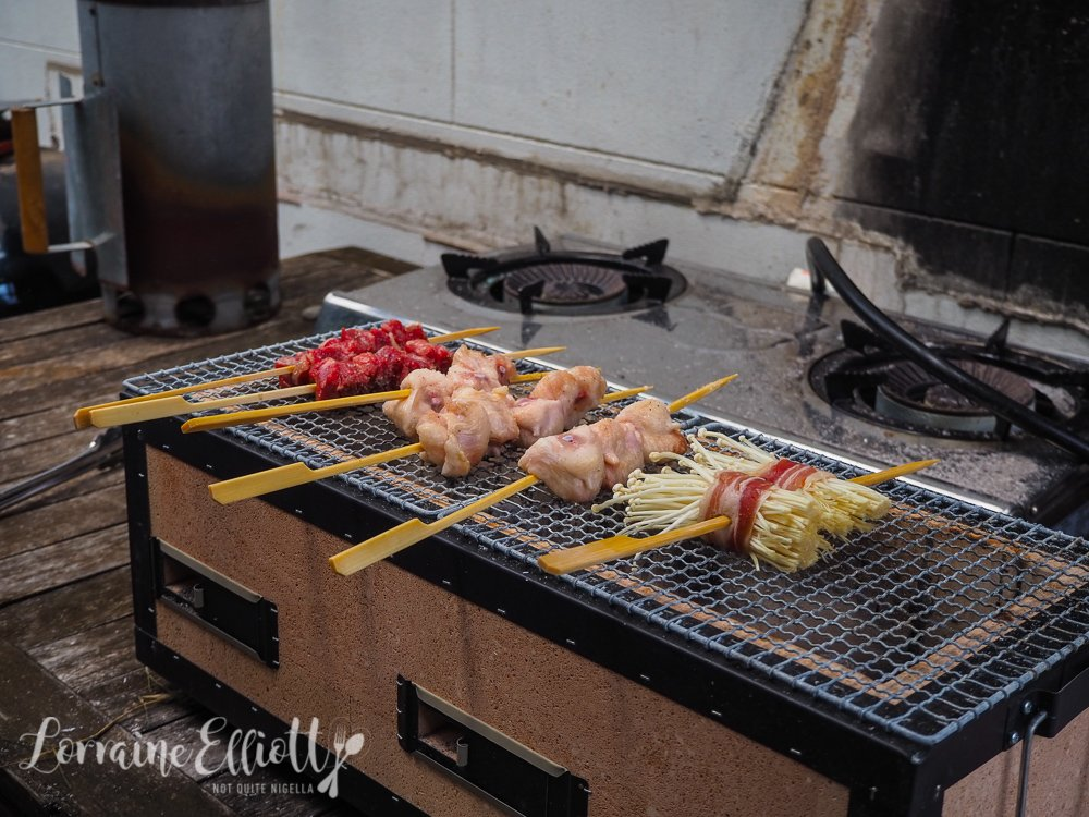 Yakitori Kushiyaki Binchotan Charcoal Grilling