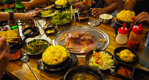 Girls' Night Karaoke and Korean BBQ at Yang San Park, Haymarket