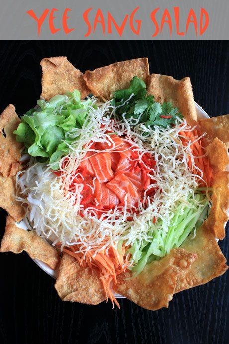 yee sang salad 1