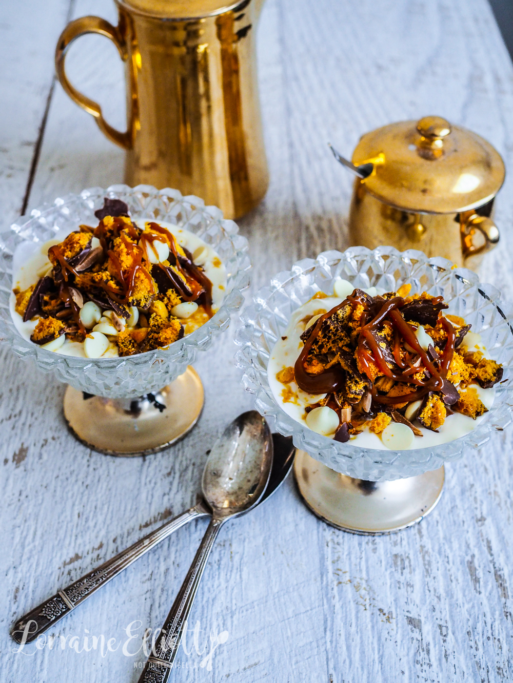 Easy Yogurt Honeycomb Parfait
