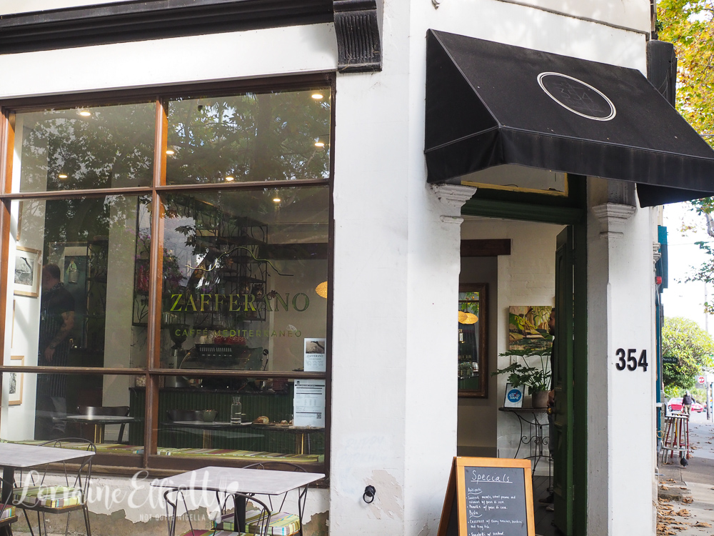 Zafferano Caffé Mediterraneo, Paddington