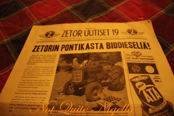 Zetor tractor restaurant helsinki finland menu