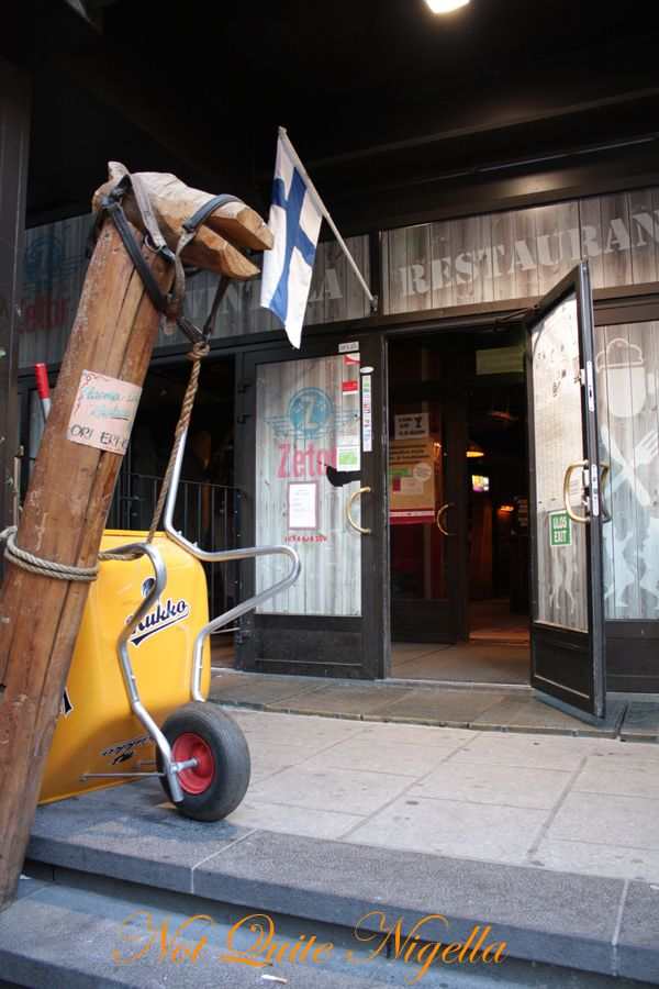 Zetor tractor restaurant helsinki finland