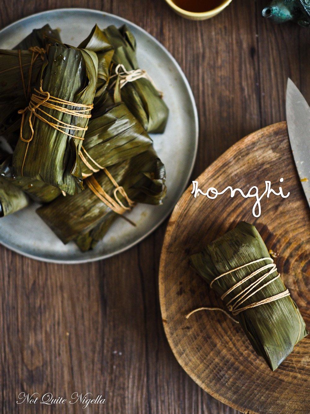 Zongi Rice Dumplings Yum Cha