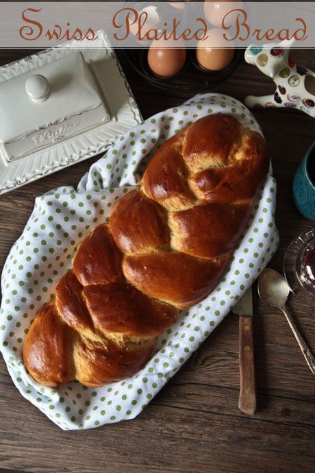 zopf swiss plaited bread