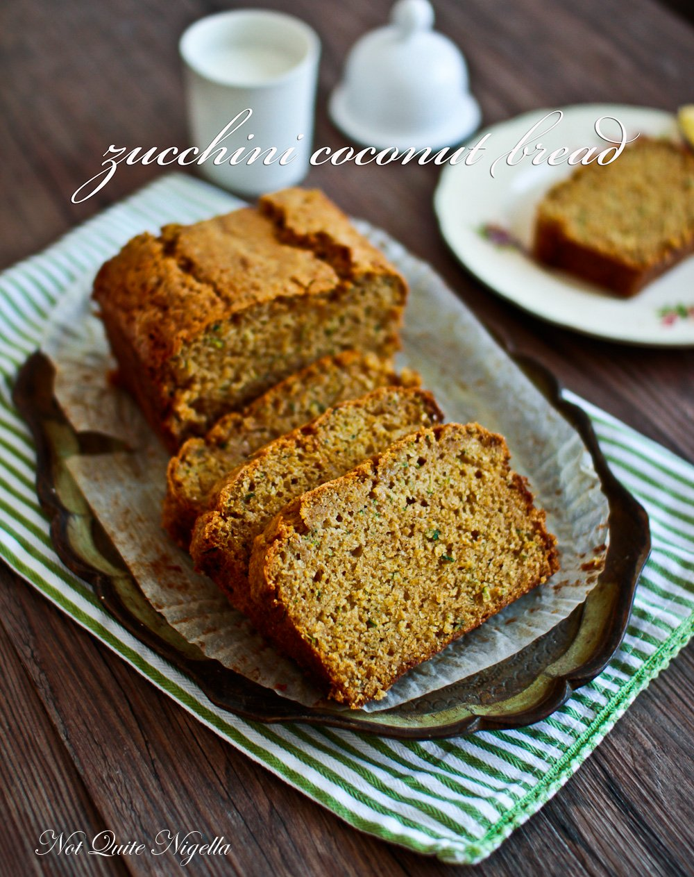 Easy Like Early Morning Zucchini Coconut Bread