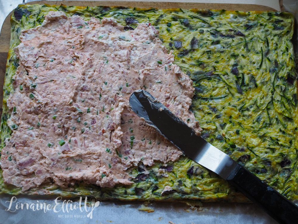 Zucchini & Bacon Roll